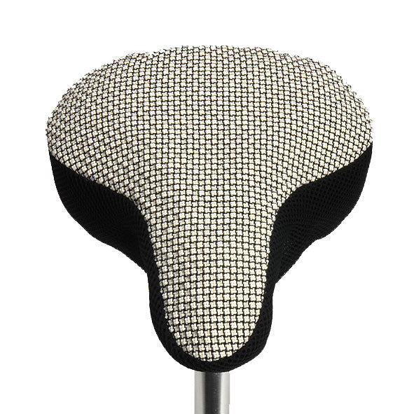 Colline Saddle Cover - Black & White