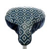Diamonds Saddle Cover - Blue