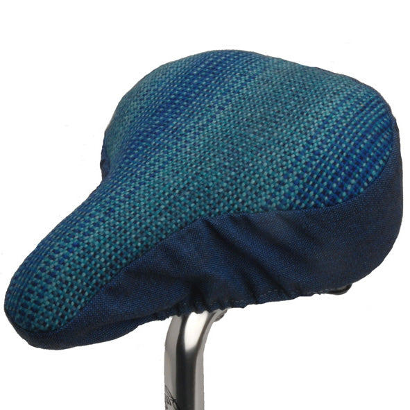 Farmor Saddle Cover - Blue Pattern