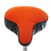 Flame Saddle Cover - Bright Orange