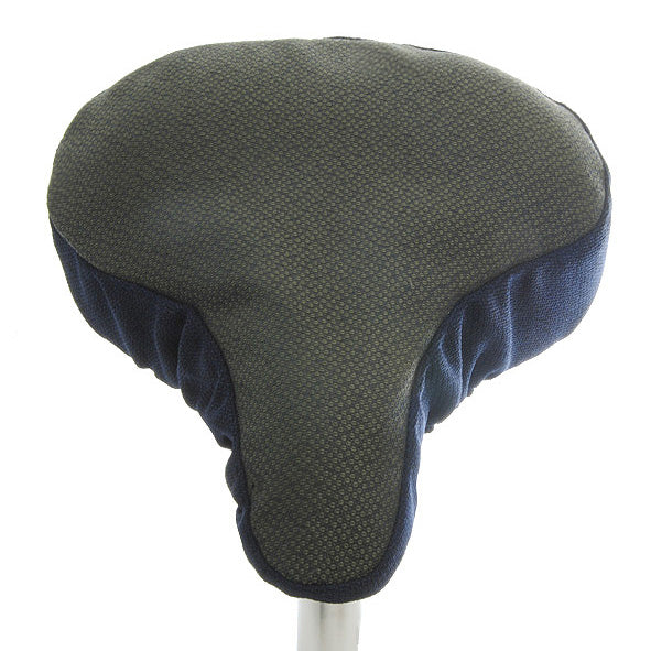 Geo Revive Saddle Cover - Blue