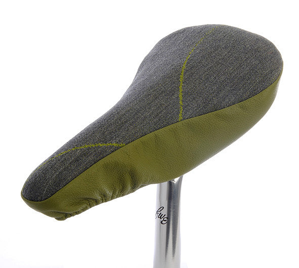 slim-fit-green-leather-bicycle-seat-cover