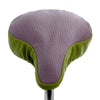 Lavender & Lime Upcycled Bike Saddle Cover