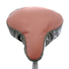 Lulu Saddle Cover - Soft Pink & Grey