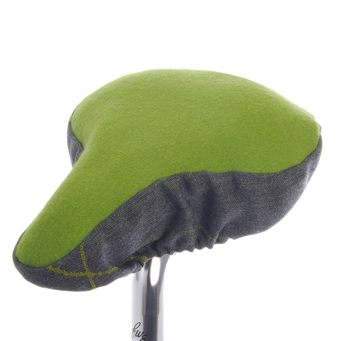 Mossy Bike Saddle Cover - Green