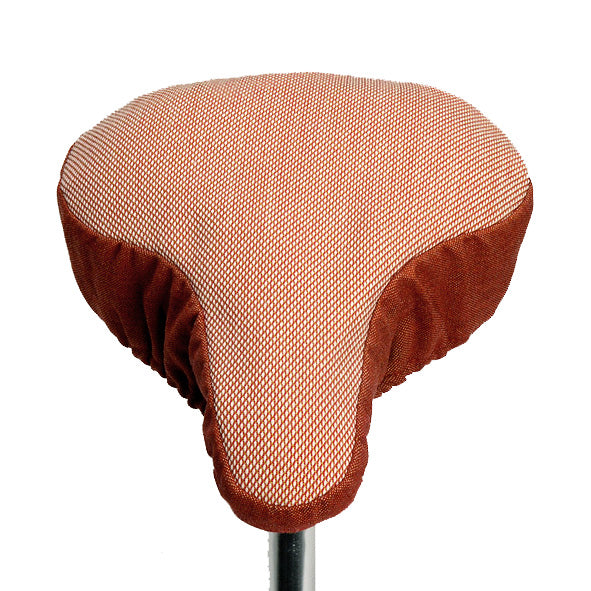Rusty Kvadrat Saddle Cover - Coral