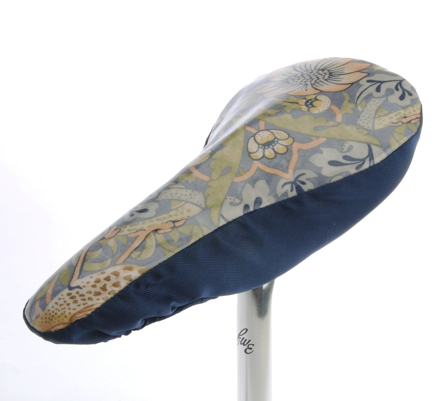 Wililam Morris Waterproof Saddle Cover - Blue II