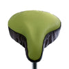 Soft Avocado Saddle Cover - Lime & Brown