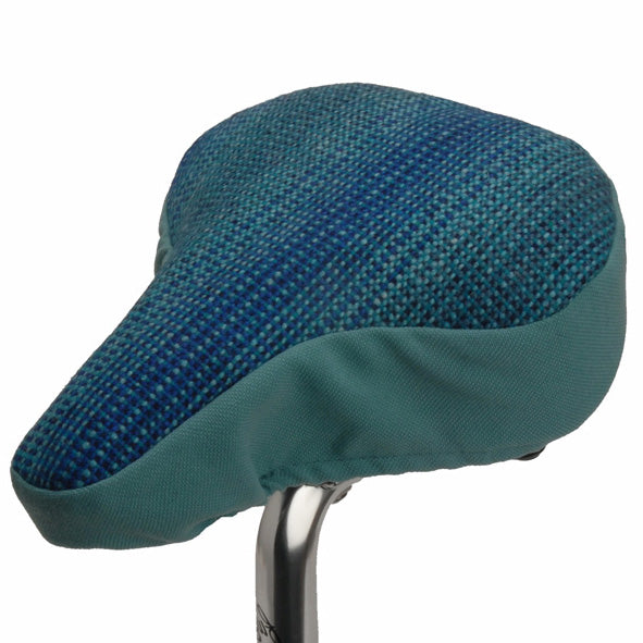Teal Bike Saddle Cover - Pattern