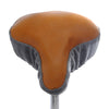 Whisky Rime Saddle Cover - Tan Leather