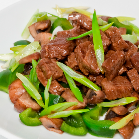 Beef in Black-Bean Sauce