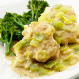 Chicken, Leeks in Cream