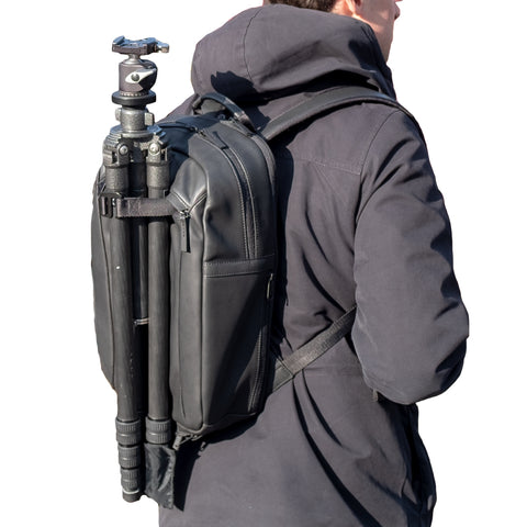 tripod backpack carry solution