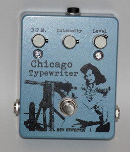El Rey Chicago Typewriter Tremolo