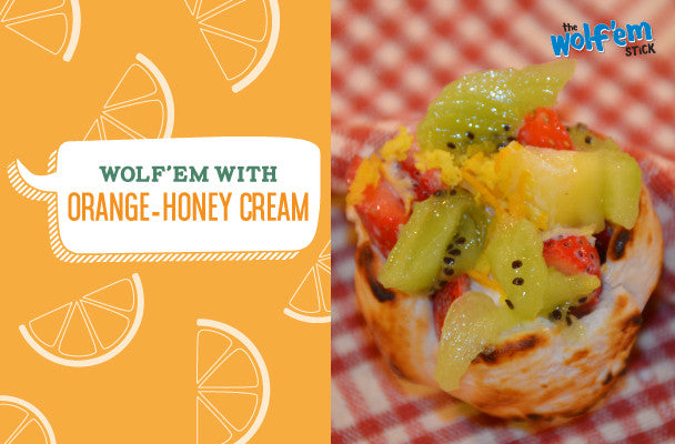 Orange-Honey Cream Wolf'em