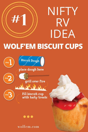Nifty RV Idea:  Wolf'em Biscuit Cups