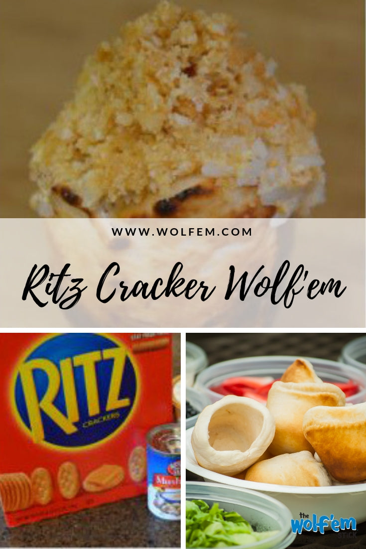 Ritz Cracker Chicken Wolf'em