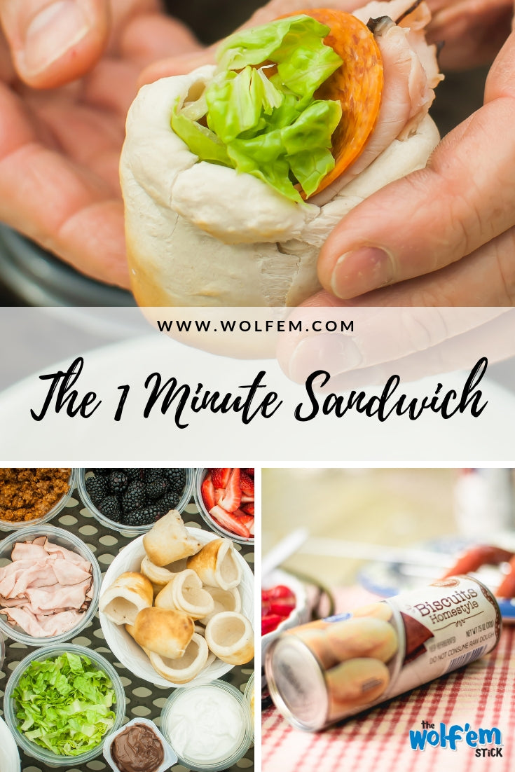 The 1 Minute Sandwich