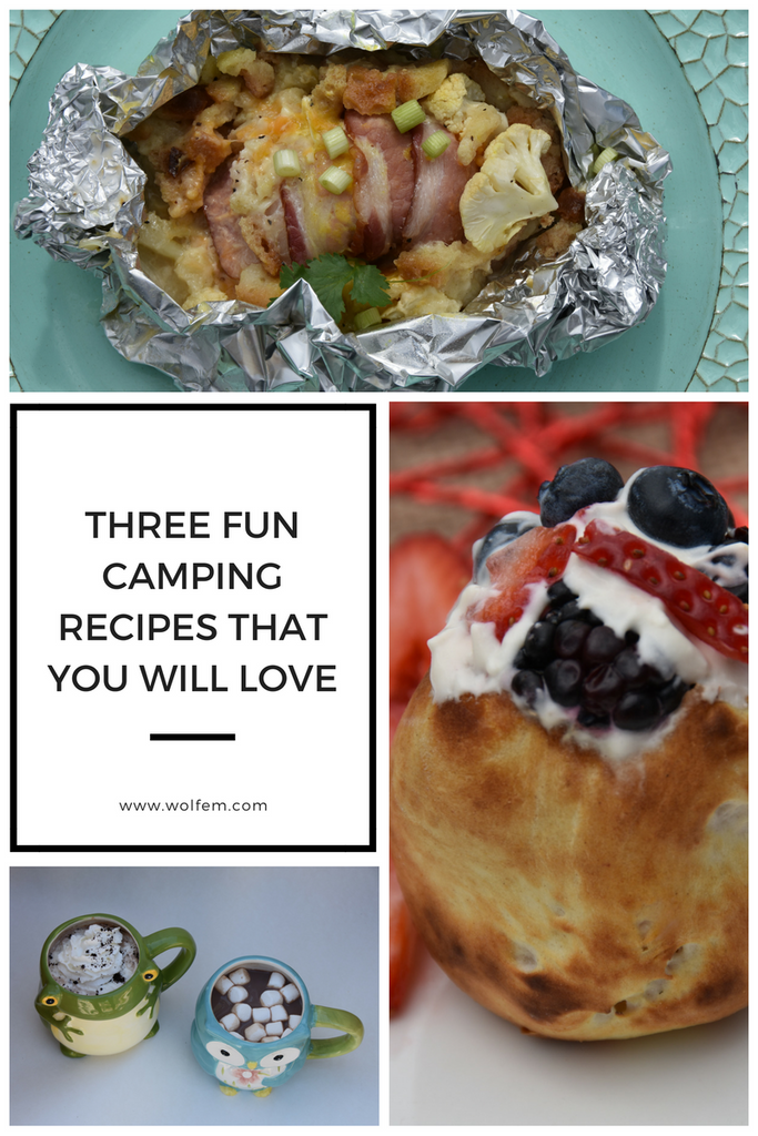 Three Fun Camping Recipes that You Will Love