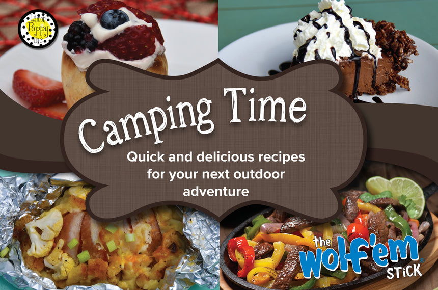 Wholesale Camping Time Cookbook (10 per case)