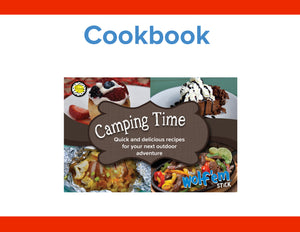 Wolf'em® Stick Camping Time Cookbook