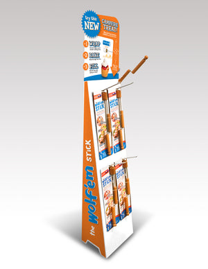 Wholesale Floor Display with Header Card