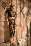 "The ""Easy Does It"" -- Lounger Pull-On Pant in ""Tiki Times"""