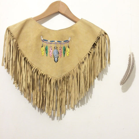 "The ""Lil Feather"" Suede Collar"