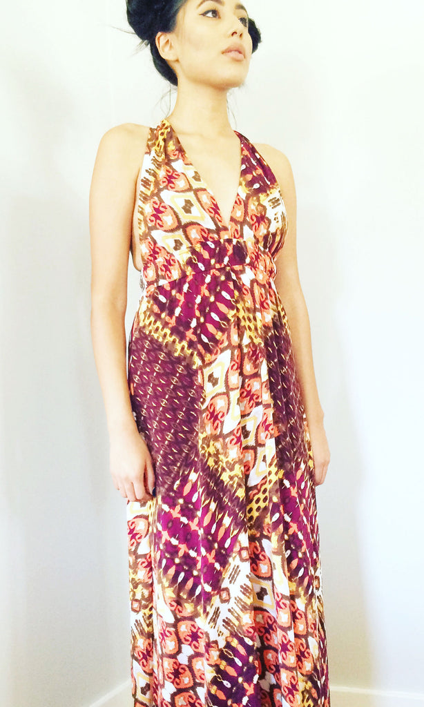 """Mix it Up"" Vintage Maxi Dress"