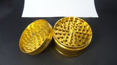 Gold Metal Herb Grinder