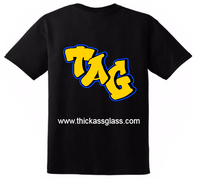 TAG T-Shirt - Black Shirt - Graffiti Label