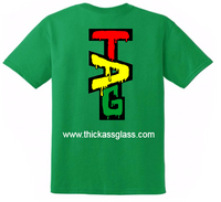 TAG T-Shirt - Green Shirt - Rasta Label