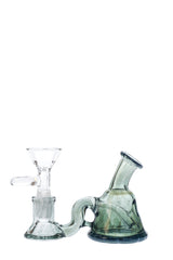 TAG - Micro Mini Rig w/ Fixed Stem - 10MM Female - Clear