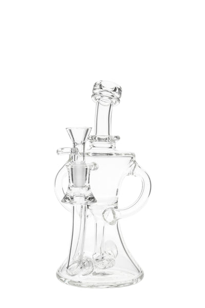 "TAG - 8"" Twin Arm Recycler Banger Hanger with Donut Diffuser 75x5MM (14MM Female)"