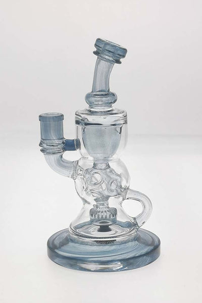 "TAG - 8.25"" Faberge Egg Klein Incycler (Recycler) w/ Super Slit Puck (14MM Female)"