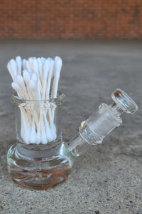 "TAG - 3.5"" Interior Can Q-Tip ISO Cleaning Jar w/ Large Alcohol Reservoir And Joint Plug 44x4MM"