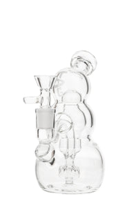 "TAG - 7"" Triple Stacked Ball Rig (The Snow Man) 50x5MM - 14MM Female"