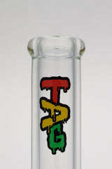 "TAG - 12"" Beaker 50x9MM - 18/14MM Downstem (4.25"") (SUPER THICK)"