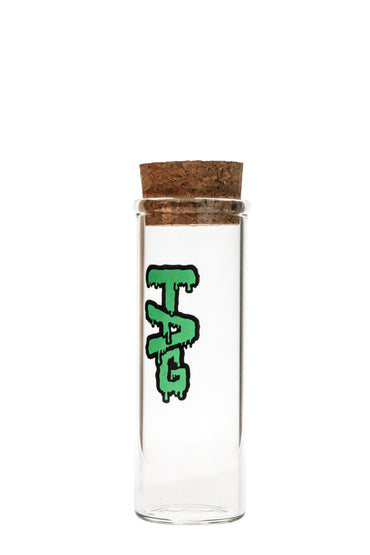 Tag Glass Jar With Cork Top Large Thick Ass Glass