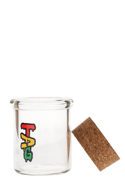 "TAG - 3.25"" Glass Jar with Cork Top (65x5MM)"