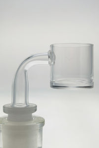 TAG - Quartz Banger Can (Flat Top) High Air Flow - 30x2MM-4MM (14MM Male) Laser Engraved Logo .01