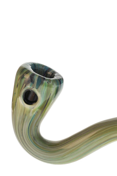 "TAG - 5"" Sherlock Spoon Pipe w/ Large Carb"