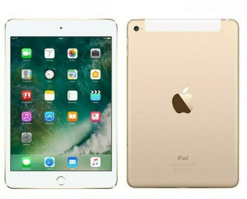 Apple iPad Mini 4- 64GB- Unlocked- Wifi and Cellular