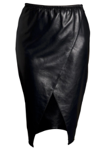 Lexi leather skirt