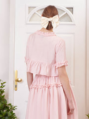 Simply Ruffled Crop トップス