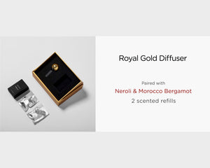 Set: Royal Gold Diffuser
