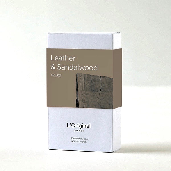 Leather & Sandalwood x2 Scented Refills