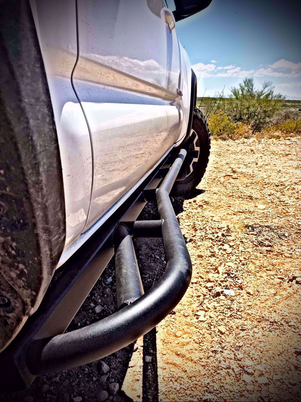 DeMello OffROad - Stealth Series kick outs - Toyota Tacoma 3rd Gen 2016-2020 - 4x4 Runners