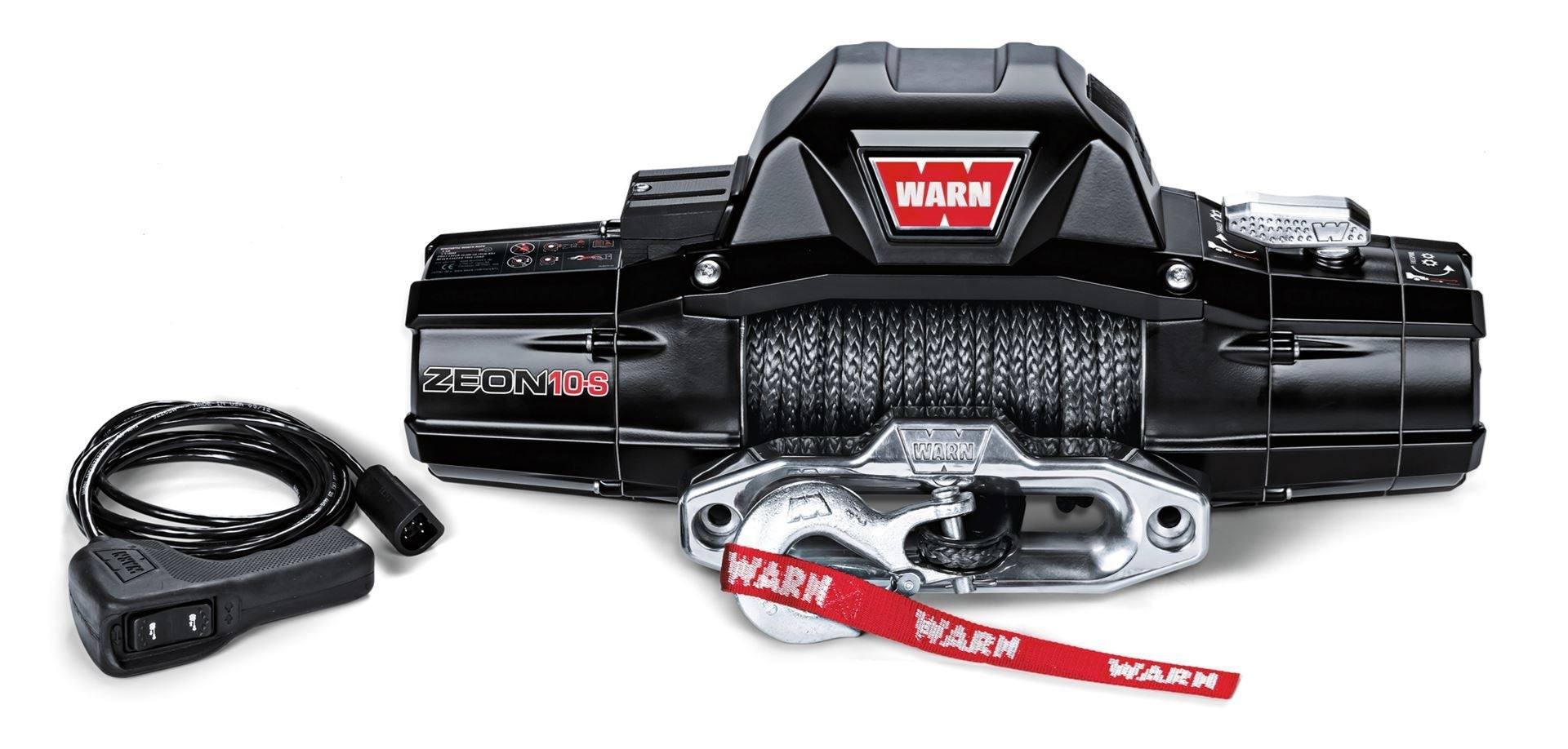 WARN - ZEON 10000LB WINCH SPYDURA SYNTHETIC ROPE - 4x4 Runners