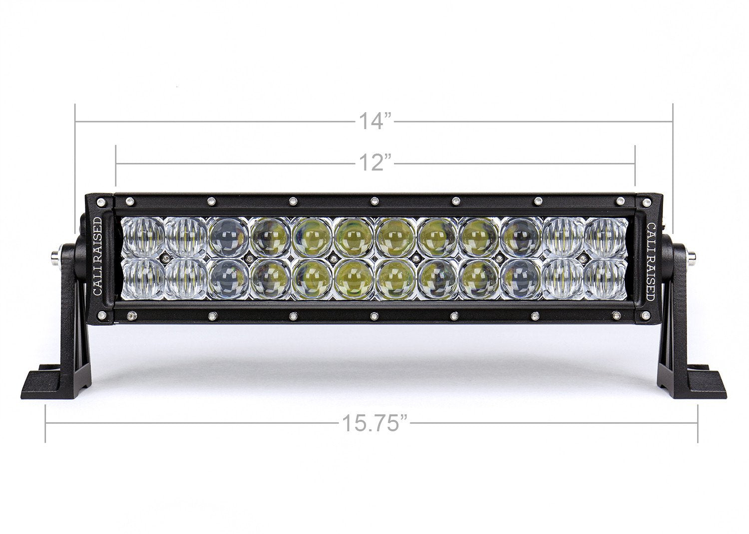 "14"" DUAL ROW 5D OPTIC OSRAM LED BAR - 4x4 Runners"
